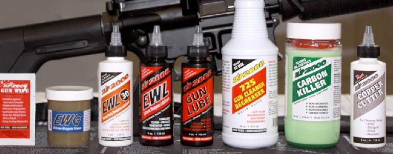 Slip 2000 Gun Cleaning