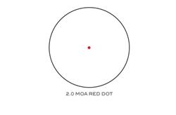 Trijicon MRO 2 MOA Red Dot