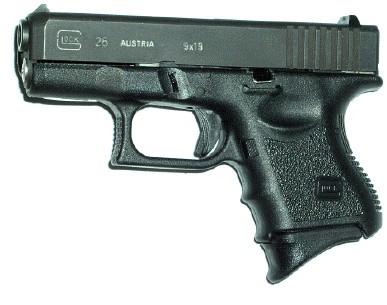 Glock 26 Magazine Grip Extension